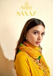 RADHIKA AZARA SANAZ  PAKISTANI SALWAR SUITS CATALOGUE