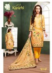 GANESHA KARACHI VOL 2 COTTON PRINTED SUITS AT CHEAPEST PRICE