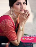 VINAY FASHION HERITAGE VOL 3 DESIGNER SAREE WHOLESALER (16).jpeg