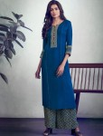 LT FABRICS GLORY KURTI WITH PALAZZO WHOLESALER