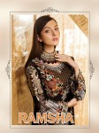 DEEPSY RAMSHA PAKISTANI REPLICA SUITS WHOLESALE SURAT