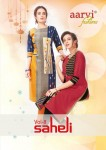AARVI FASHION SAHELI VOL 8 KURTI BEST PRICE
