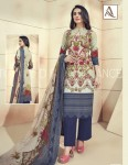 ALOK GOLD STYLE COTTON DUPATTA SUITS