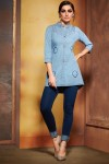 KAJREE FASHION WALKER DENIM KURTI WHOLESALER