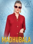BUY BANWERY FASHION MADHUBALA RAYON KURTIS WHOLESALE SURAT