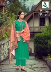 ALOK SUIT PATAN PATOLA PASHMINA SUITS