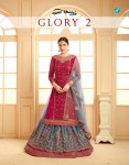YOUR CHOICE GLORY VOL 2 SATIN GEORGETTE SUITS CATALOGUE