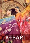 ALOK SUIT KESARI PURE VISCOSE OPADA SUITS LATEST CATALOGUE