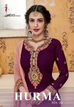 EBA LIFESTYLE HURMA VOL 26 EMBROIDERY PALAZZO SALWAR SUITS