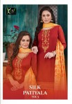 KESSI SILK PATIYALA VOL 3 CHANDERI PATIYALA SALWAR SUITS