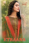 LEVISHA ETRAANA SATIN COTTON EMBROIDERY SUITS AT WHOLESALE