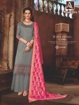 ALOK SUIT BAGHBAN JAM SATIN SUITS WHOLESALE