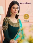 AASHIRWAD ROSY SATIN GEORGETTE SUITS CHEAPEST PRICE