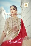 ALOK SUIT SUNSHINE SALWAR SUITS AT WHOLESALE PRICE