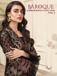 SHREE FABS BAROQUE EMBROIDERED COLLECTION VOL 3 WHOLESALE SURAT