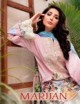 SHRADDHA MARJAAN LAWN COLLECTION 19 PAKISTANI SUITS WHOLESALER