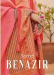 SANNA FASHION BENAZIR  NEW SALWAR SUITS CATALOGUE
