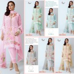 SHREE FABS S153 ROSE GOLD 3 SUITS WHOLESALER PAKISTANI SUITS