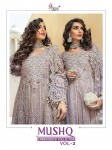 SHREE FABS MUSHQ EMBROIDERED COLLECTION VOL 2  LATEST CATALOGUE
