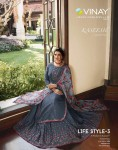 VINAY FASHION KASEESH LIFE STYLE 3 WHOLESALE CATALOGUE AT CHEAPEST PRICE