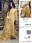 SANIYA TRENDZ ROUCHE 32003-A TO 32003-E PAKISTANI SUITS AT BEST PRICE