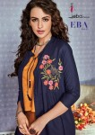 EBA LIFESTYLE VOL 11 WHOLESALE KURTI WITH BOTTOM WEAR