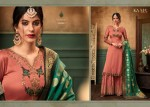 KARMA 14058-14063 SERIES HEAVY GEORGETTE SHARARA SUITS CATALOGUE WHOLESALE (12).jpg