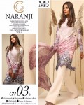 NARANGI LAWN PAKISTANI SUITS CATALOGUE BY CHARIZMA
