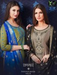 KESSI FABRICS SHANGAR BY PATIYALA HOUSE VOL 8 JAM SILK DRESS MATERIAL AT WHOLESALE PRICE