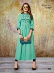 MANAS KHUSHI VOL1  RAYON KURTIS CHEAPEST PRICE