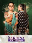 SHREE FABS SAKHINA SILK COLLECTION PAKISTANI SUITS AT CHEAPEST PRICE