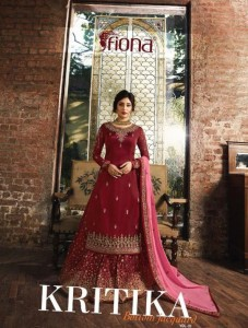 FIONA KRITIKA BOTTOM JECQUARD VOL 1 WHOLESALE PAKISTANI SUITS ONLINE