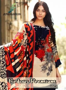 JUVI FASHION FIRDOUS PREMIUM VOL 3  SALWAR SUITS AT CHEAPEST PRICE
