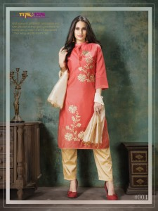 TIPS AND TOPS YULIA 3 KURTIS AT CHEAPEST PRICE