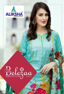 ALIKSHA BELEZAA VOL 1  KARACHI SUITS SUPPLIER