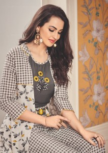 EBA LIFESTYLE EBA VOL 12 RAYON KURTIS MANUFACTURER IN INDIA