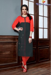 VS FASHION SAKSHI VOL 1 RAYON KURTIS AT CHEAPEST PRICE