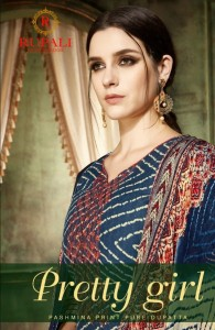RUPALI FASHION PREETY GIRL PASHMINA SUITS