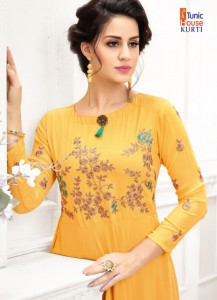 TUNIC HOUSE JEENAT VOL 2 KURTIS LATEST COLLECTION