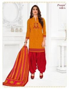 PRANJUL PREKSHA VOL 14 COTTON READYMADE SALWAR KAMEEZ