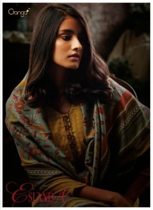 GANGA FASHION ESLAMDA PAKISTANI DRESS MATERIAL WHOLESALE