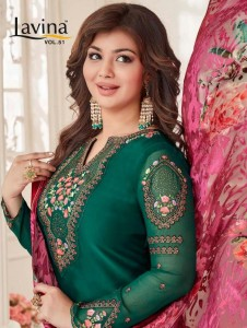 LAVINA VOL 51 PAKISTANI SALWAR KAMEEZ DRESS MATERIAL