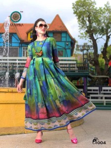 ARADHNA ALTIMA RAYON KURTIS MANUFACTURER IN INDIA
