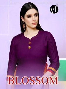 VF INDIA BLOSSOM KURTIS MANUFACTURER IN SURAT