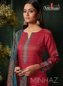 TUNIC HOUSE  MINHAZ DESIGNER SALWAR KAMEEZ WITH PRICE