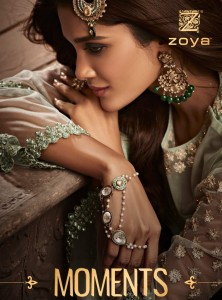 ZOYA MOMENTS EMBROIDERED DRESS MATERIAL