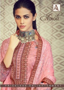 ALOK AMOLI 623-001 TO 623-008 COTTON SUITS