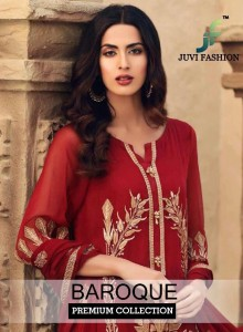 JUVI FASHION BAROQUE SALWAR SUITS AT WHOLESALE PRICE