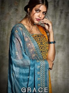 SARGAM PRINTS GRACE NEW PAKISTANI SUITS DESIGN