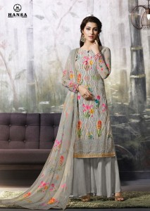 HANSA PRINT  LAKHNAVI VOL 2 PAKISTANI SUITS NEW COLLECTION